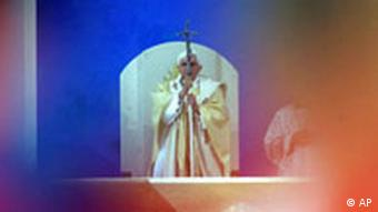 Papst Benedikt in Deutschland Regensburg Messe