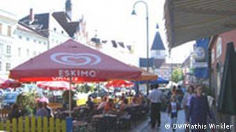 Der Stadtplatz von Braunau
