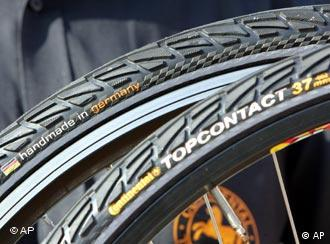 Bicycle tires made by Continental