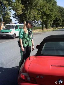 Polizeikommissarin Iris Kyrion Polizei Bonn Foto:Bruno Taitson/DW