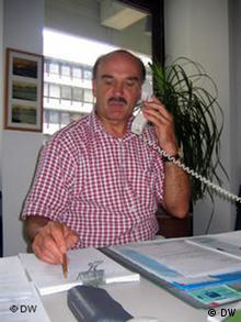 Polizeihauptkommissar Wilfried Lange Polizei Bonn Foto:Bruno Taitson/DW