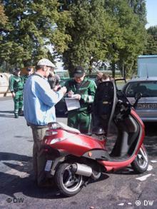 Polizei Oberkommissar Willi Quarz Polizei Bonn Foto:Bruno Taitson/DW