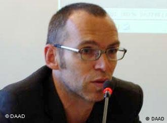 Christoph Schultheis, do BildBlog, um dos mais conhecidos da Alemanha
