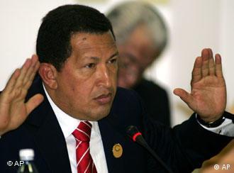 Presidente venezuelano Hugo Chavez: símbolo do neopopulismo na América Latina