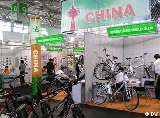 Chinese products on show at the IFMA show in Cologne