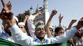 Islamistische Demonstration gegen Papst Äußerungen in Indien