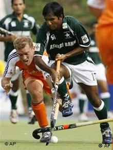 Field Hockey World Cup in Moenchengladbach western Germany