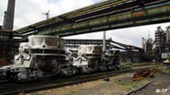 Schwerindustrie im Donezgebiet