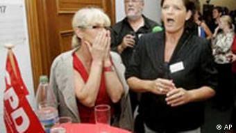 Reaktionen der SPD