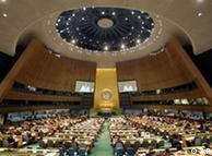 Asamblea General de la ONU en Nueva York.