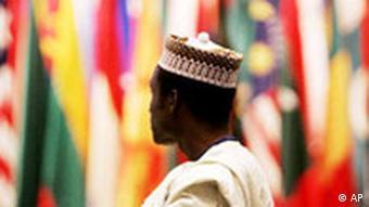 IWF und Weltbanktreffen in Singapur Delegierter aus Afrika