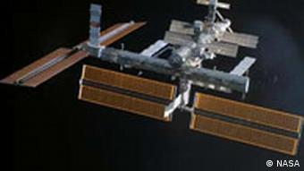 Die Internationale Raumstation ISS, Foto: AP