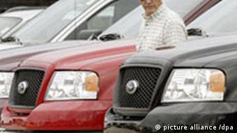 Autos von Ford - Verkaufszahlen sinken Symbolbild Autos