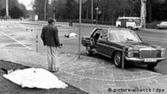 Generalbundesanwalt Buback bei Anschlag getötet RAF