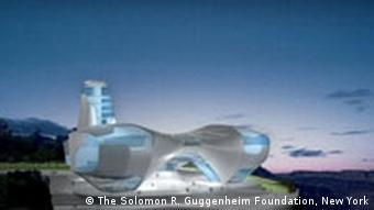 Ufos für die Kunst? Das Guggenheim Museum in Guadalajara