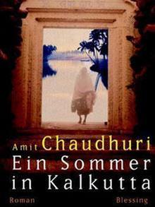 Buchcover Amit Chaudhuri Ein Sommer in Kalkutta