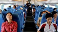 Transrapid Zug Maglev in Schanghai China