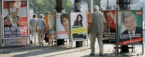 Wahlen in Österreich - Großbild