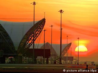 东道国泰国首都曼谷的国际机场