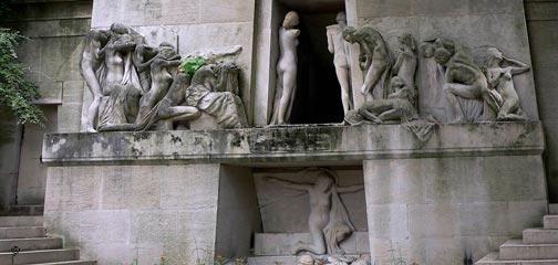 Friedhof Père Lachaise in Paris