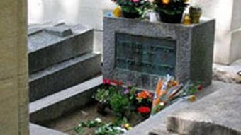 Friedhof Père Lachaise in Paris