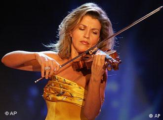 Anne Sophie Mutter.