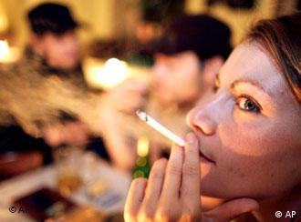 Berlin's smoke-filled cafes may be a thing of the past