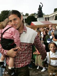 Pizarro na minhenskom Oktoberfestu