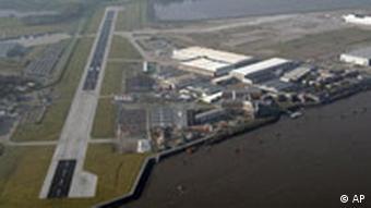 The Airbus plant in Hamburg