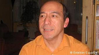 Esteban Cuya, miembro del Centro de Derechos Humanos, de Núremberg y de la Coalición contra la Impunidad.