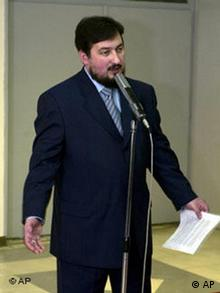 Prime Minister Ljubcho Georgievski