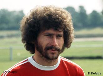 Former Bayern Muncih and Germany soccer star Paul Breitner