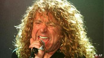 Led Zeppelin singer Robert Plant