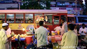 Indien: Bombay Obststand