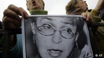 BDT Getötete Journalistin Anna Politkowskaja, Protestmarsch