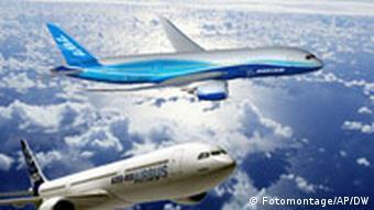 La nivel internaţional, concernul EADS s-a impus în faţa concurentului Boeing