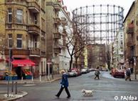 Промышленные сооружения тоже находятся под охраной ЮНЕСКО - газохранилище в Берлине