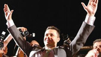 Nikola Gruevski nach den Parlamentswahlen in Mazedonien