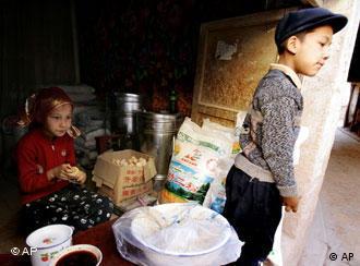 中国新疆自治区一景