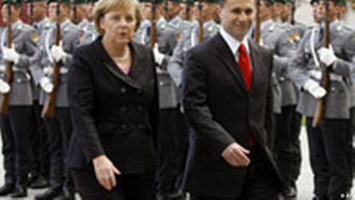Nikola Gruewski in Deutschland (AP)
