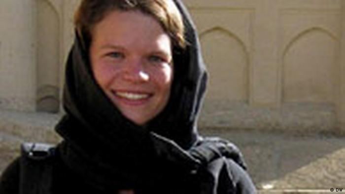 Karen Fischer Kabul Afghanistan (DW)