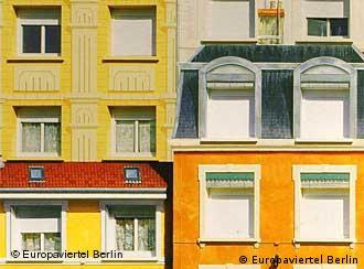 'Bairro Europa' em Berlim-Hellersdorf