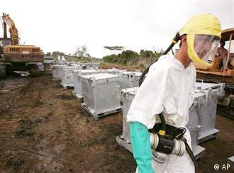 Giftmüllskandal in der Elfenbeinküste (Foto: AP)