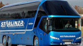 Deutschland MAN Bus in China kopiert