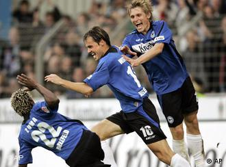 Arminia Bielefeld give a good account of themselves in the top flight