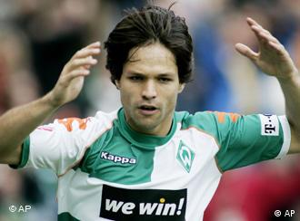 A sure bet: Diego and Werder are flying in the league but their sponsors are losing out
