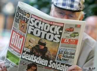 German tabloid Bild first published the photos that sparked a huge scandal