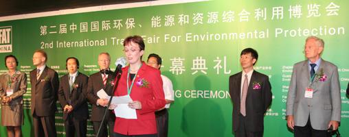 Umweltmesse in China