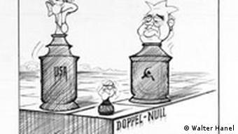 Schach-Karikatur