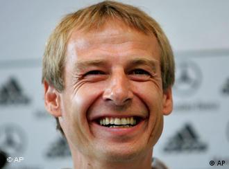 Former Germany coach Jürgen Klinsmann